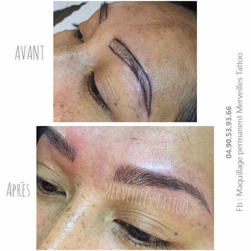 sourcils poil à poil, taouage naturel, maquille permanent