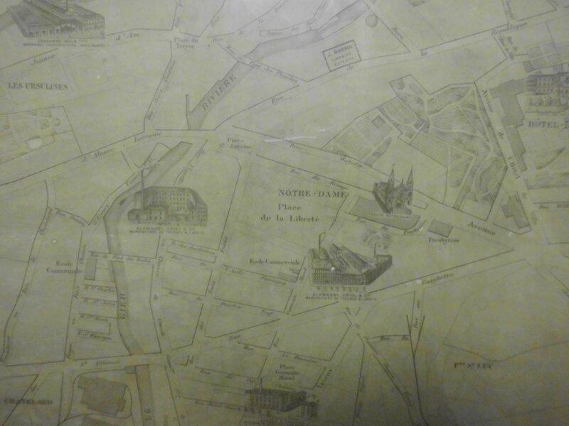 plan 1895 st-Cham rue du Rivage extrait