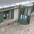 entrée de la maison de Balzac rue Raynouard à Paris