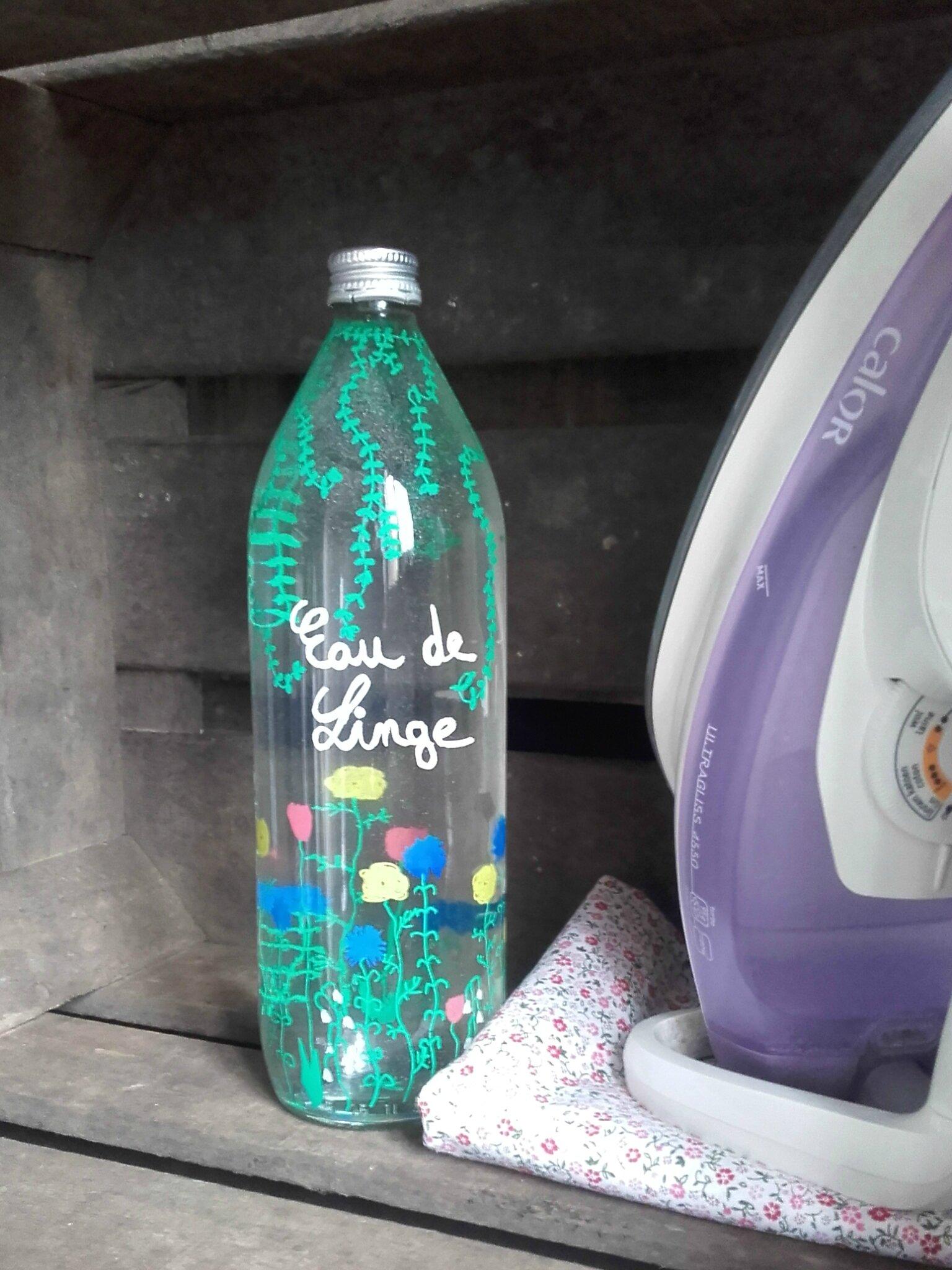 DIY eau de linge recup lilybouticlou