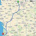 Les vacances : on the road direction pylas sur mer