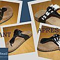 Custom chaussures d'été