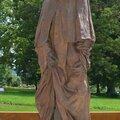 La sculpture dans la ville de besançon