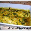 Dos de cabillaud à l'indienne + recette du garam masala ( recettes du chef jean vachon )