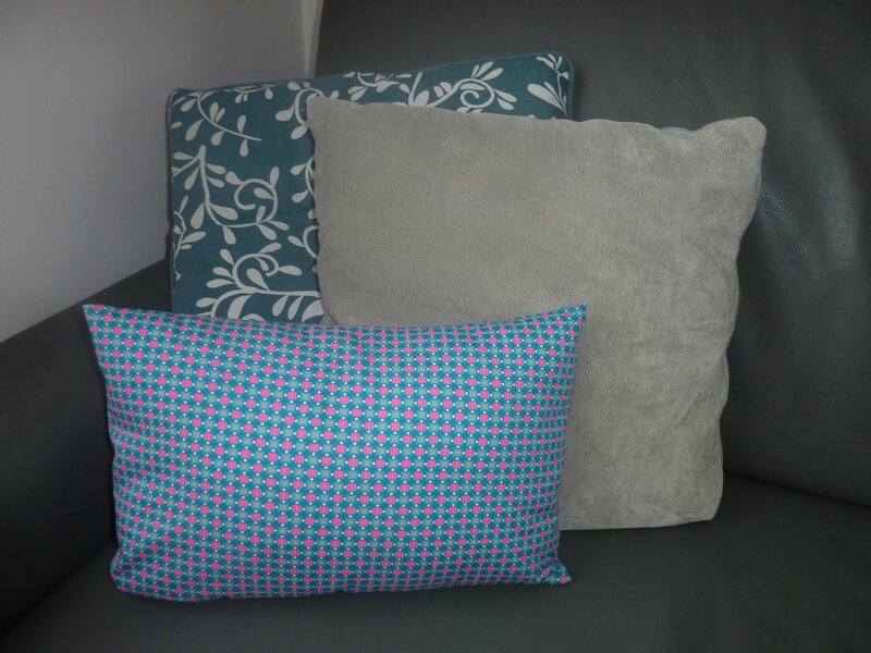 Coussin passepoil