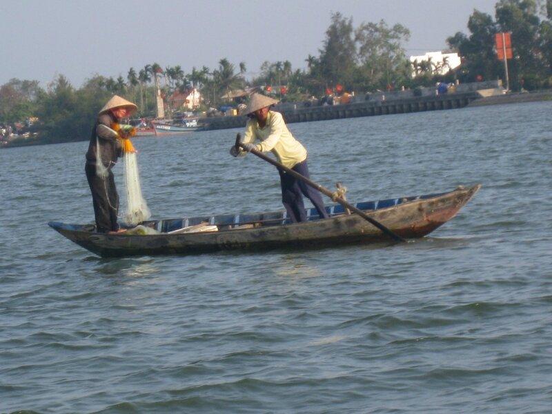 HOI AN rivière Thu Bon