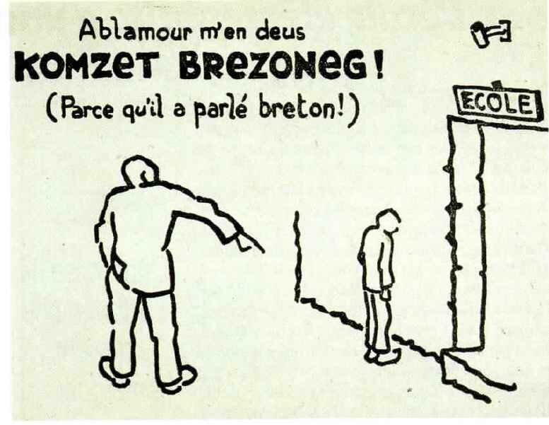 Il a parlé breton