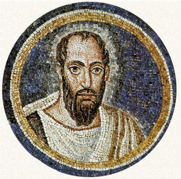 Saint Paul, mosaïque de Ravenne