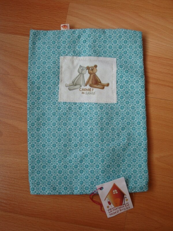 deux ours/turquoise - 18€