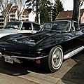 Chevrolet corvette sting ray coupe 1965-1966