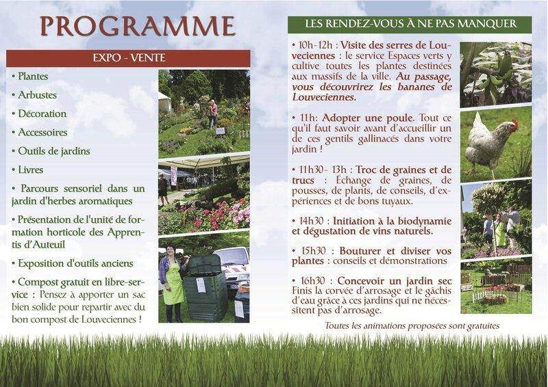 Flyer2 Fleurs & JardinsLOUVECIENNES 2015