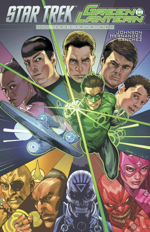 star trek green lantern the spectrum war TP