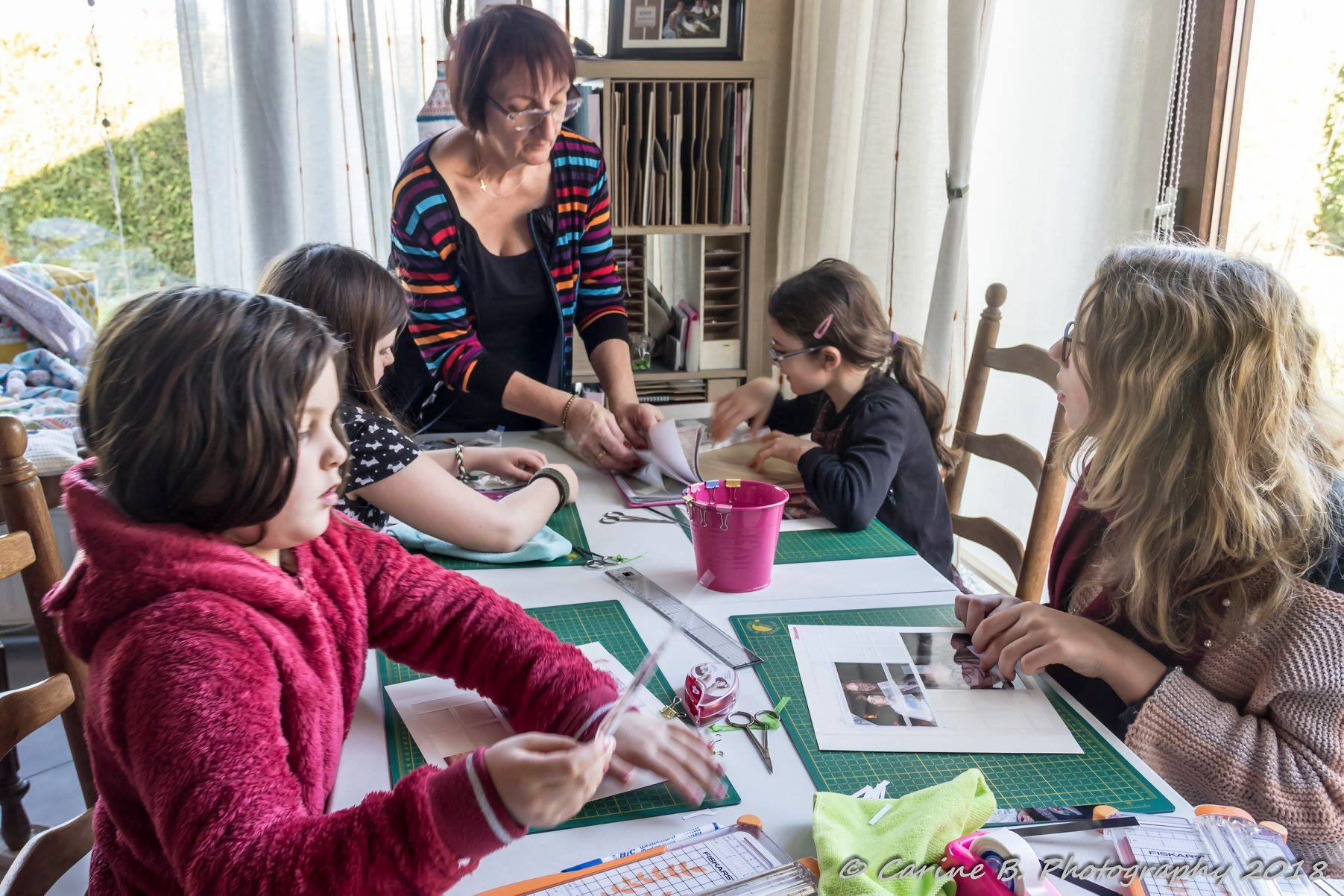 Atelier scrapbooking junior