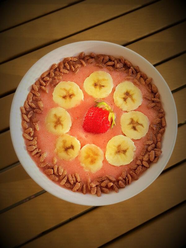 chez cathytutu tous encuisine cyril lignac risotto asperge saumon marine orange smoothie fraise banane glace leger facile rapide en direct m6 (1)