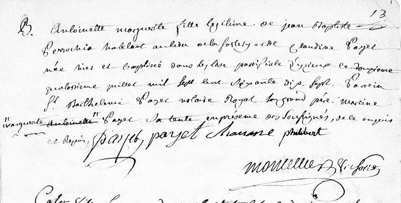naissance fille JB Perrochia 1877