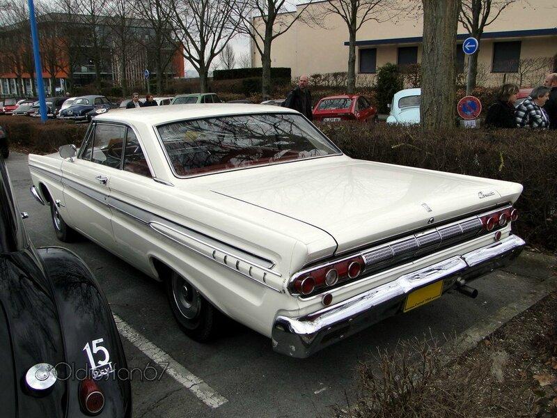 mercury comet caliente hardtop coupe 1964 b