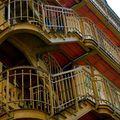 Escalier extérieur du théâtre du Palais Royal.