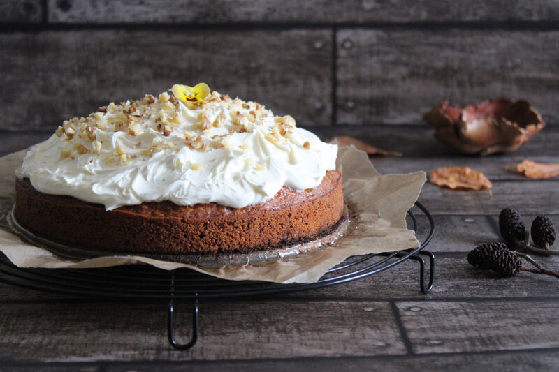 IMG_3634cathytutu carrotcake nigella lawson halloween gateau carotte noix gingembre automne pensees