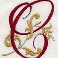 Broderie traditionnelle et aux rubans