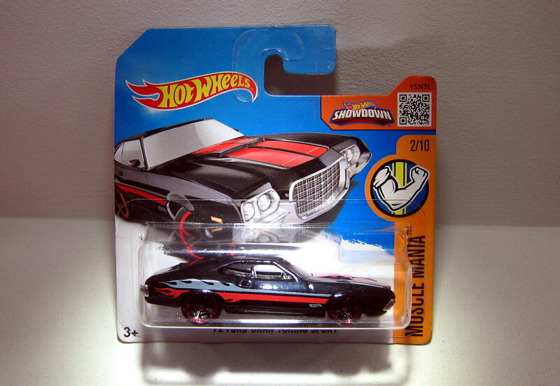 Ford Gran Torino Sport de 1972 (Hotwheels)