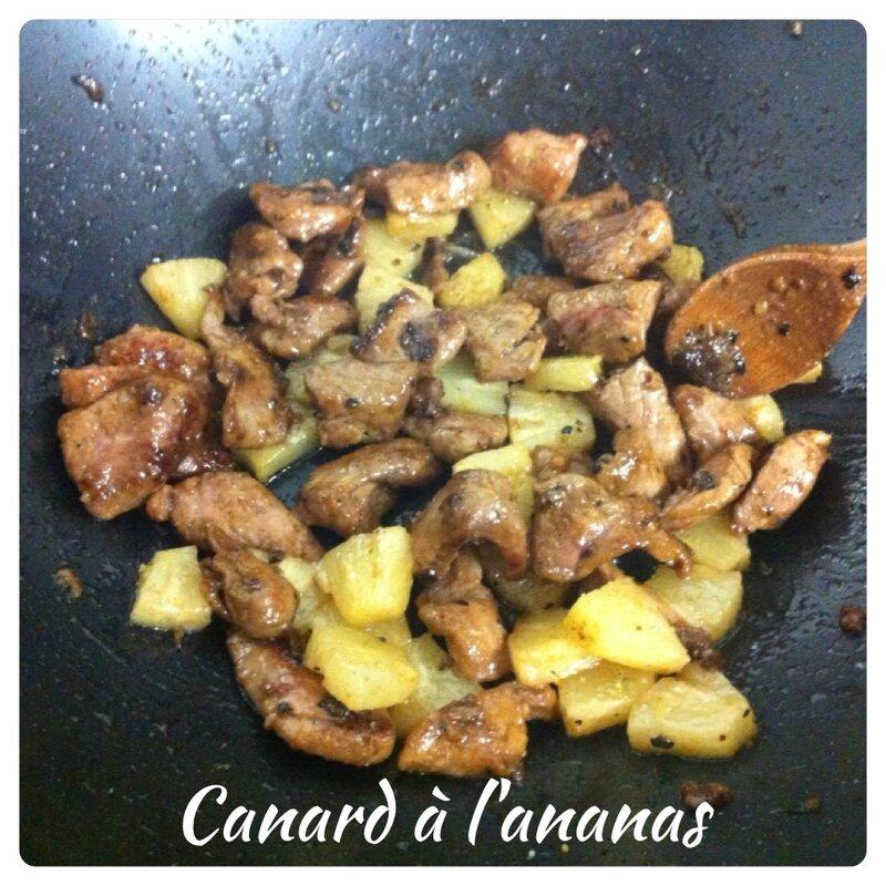 canard à l'ananas (8)