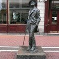 Statue de James Joyce, centre-ville
