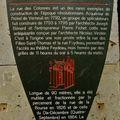 Histoire de la rue des Colonnes.