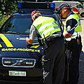 1220 véhicules contrôlés à la frontière franco-suisse