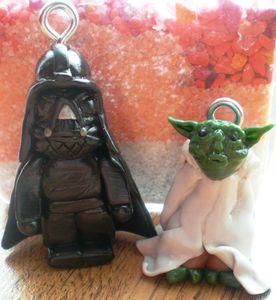 Dark Vador et Maître Yoda