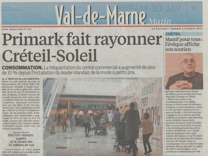 Le Parisien Mgr Santier soutient les manifestants 001