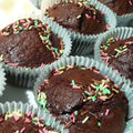 Les cupcakes choco-volcan