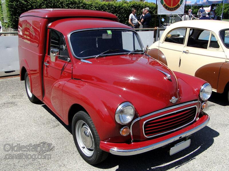 Morris 6cwt Van 1962-1973-01
