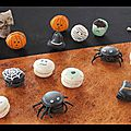 Macarons d'halloween, version 2015