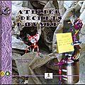 1er livre : verso - atelier dechets d'oeuvre - edition le lutin malin 2008