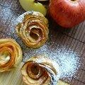 Tartelettes – roses à la pomme...