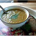 Soupe facile de légumes variés en cocotte-minute