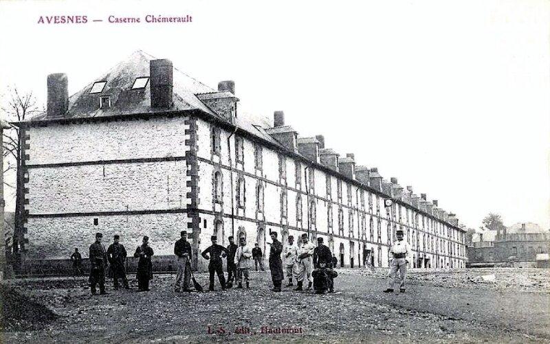 Avesnes - Caserne