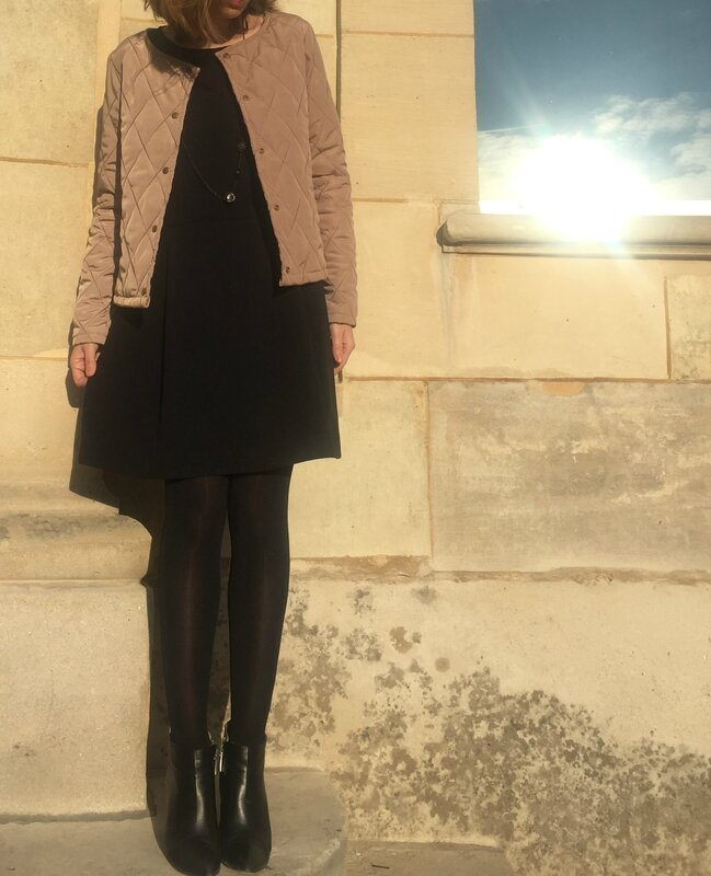 Lexi Dress et veste aniline (1)