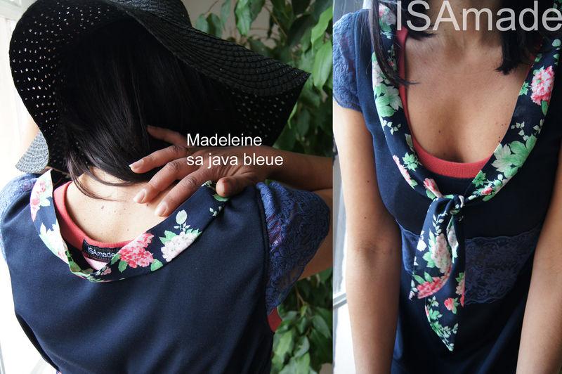 MADELEINE SA JAVA BLEUE