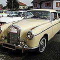 Mercedes benz 220 s w180 coupe 1956-1959
