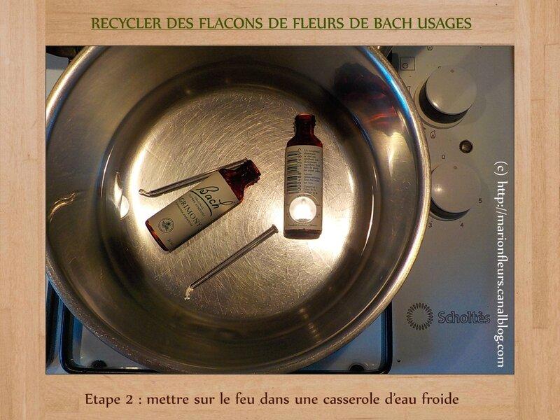 Etape 2 (recycler des flacons FDB)