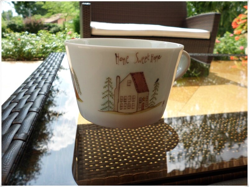 Tasse Sweet home1
