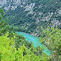 Вердонское ущелье, франция (gorges du verdon, france)