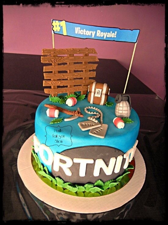 Gateau Fortnite !