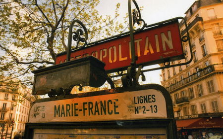 station__m_tro_marie_France