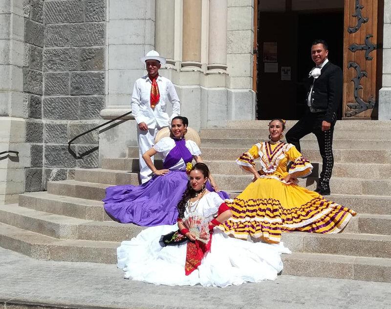 Fêtes latino-mexicaines à Barcelonette - 2018