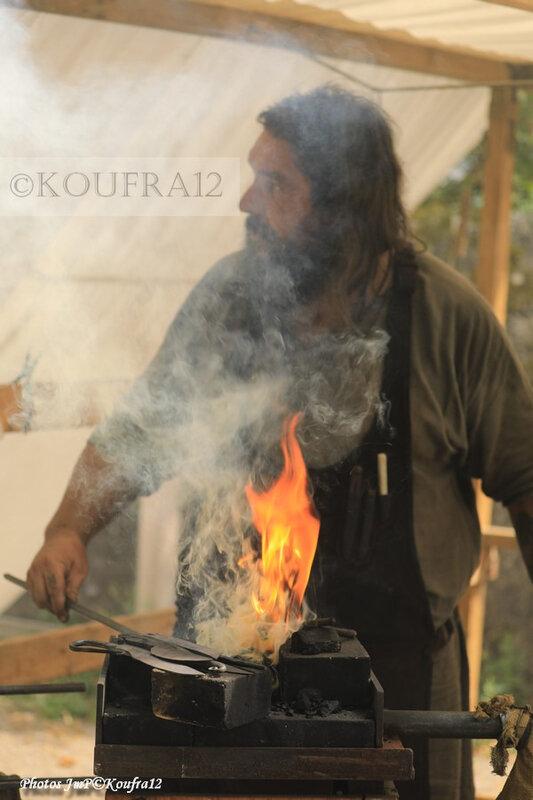 Photos JMP©Koufra 12 - La Cavalerie - La forge - 06082019 - 0180