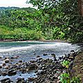 Côte EST de TAHITI - 15- plage du trou du souffleur
