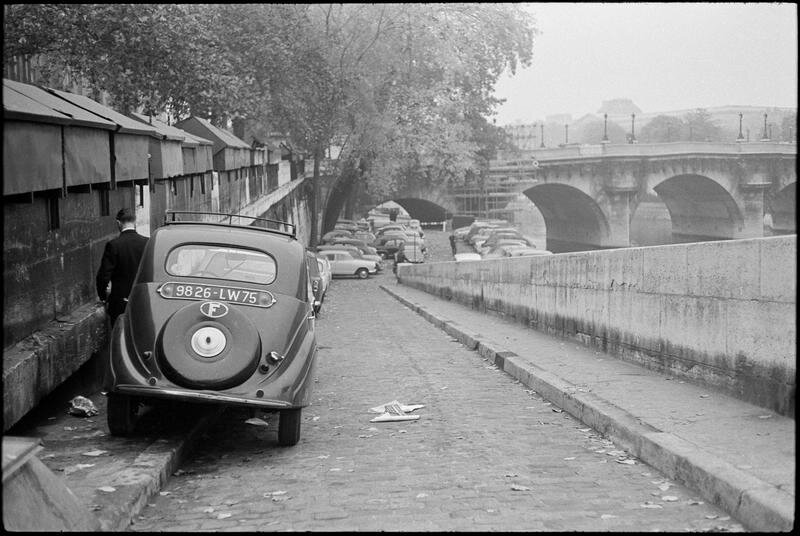 Bords de Seine au Pont Neuf, Paris 1963