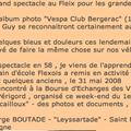 VESPA CLUB Bergerac au Fleix en 1958